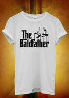 The Bald Father Hairless Funny Men Women Unisex T Shirt Tank Top Vest 384