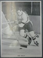 1950's Blueline Black And White Photo 8½ X 12 Red Kelly
