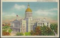 Vintage Postcard of Georgia State Capitol, Atlanta, Georgia Postmarked 1939