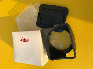 Rare. Leica Gegenlichtblende 12587 lens hood for Summilux 1,4 35mm. ASPHERICAL