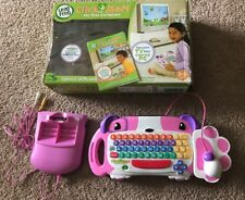 LEAP FROG CLICKSTART MY FIRST COMPUTER, CONSOLE, KEYBOARD, MOUSE