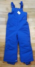 NWT HANNA ANDERSSON SNOWBOARD SKI WATERPROOF SNOW OVERALLS BIBS BLUE 110 5
