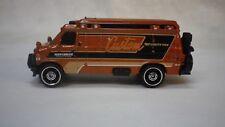 2018 Matchbox Orange 95 Chevy Custom Van Hot Wheels Custom Real Riders