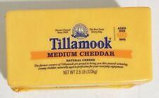 2.5 Pound Tillamook Medium Cheddar Cheese Loaf