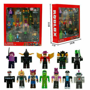 Roblox 12Pcs Mini Action Figure Classic Series Character Box XMAS Gift Kid Toy A