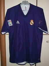 Real Madrid 2001 - 2002 Third football shirt jersey Adidas Centenary Size M