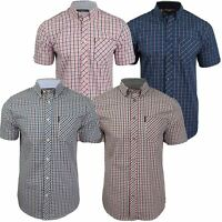 Mens House Check Shirt by Ben Sherman Short Sleeved