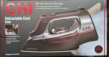 CHI Professional Steam Iron with Retractable Cord - 13106 - New!!! (CR)