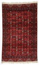 Old Central Asian Turkmen Rug: 3'8'' x 6'1'' (112 x 185 cm) Lot 534