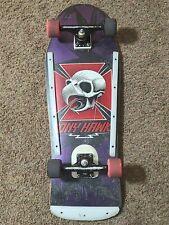 Og 80's Powell Peralta Tony Hawk Skateboard Deck - Complete!
