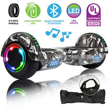 Motorized Bluetooth Hoverboard 6.5'' Self Balancing Scooter Free Bag Gift Ul2272