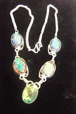 A Lovely Rainbow Topaz Necklace-Fashion Forward , lovely necklace FREE US SHIP