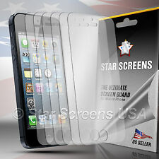 6x Newest HD Clear LCD Screen Protector Cover Guard For Apple iPhone 5 5th 5 Gen