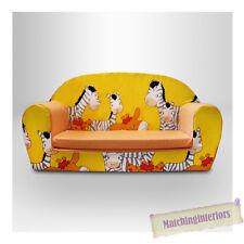 Zèbre Animaux pour enfants confort doux Double Mousse Divan petits chaise siège