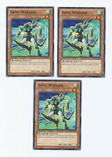 X3 YUGIOH SONIC WARRIOR LTGY-EN090 COMMON 1ST