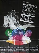LE VOLEUR DE CHEVAUX Affiche Cinéma Movie Poster JANE BIRKIN GAINSBOURG 160x120