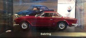 #220 Maserati Sebring 1962 Bordeaux - IXO 1:43