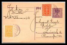 GP GOLDPATH: AUSTRIA POSTAL CARD 1925 _CV776_P07