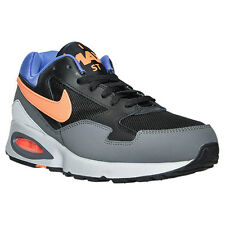 Men's Nike Air Max ST Running Shoes, 652976 004 Size 9.5 Black/Onyx/Light Mand