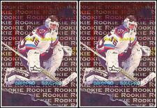 2x FLEER METAL 1995 TOMMY SALO NHL RC NEW YORK ISLANDERS #191 ROOKIE CARDS LOT