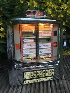 Original Vintage Seeburg D 3WA 100 Wall o Matic Jukebox Wall Box Selector Unit