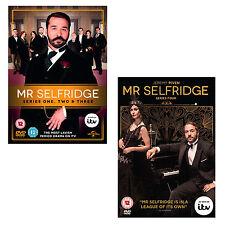 Mr Selfridge Series Season Series 1, 2, 3 & 4 DVD R4/Aus Downton Abbey fan New