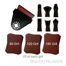Contour Profile Sanding Kit with 75 Extra Sheets - Craftsman, Dremel Multi-Max