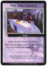 Babylon 5 CCG Deluxe Promo Card For The Future Used Played