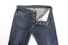 A.P.C. APC New Standard Selvedge Denim Jeans 29 32 x 32 Zero Wash Fades
