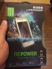 LifeProof FRE Power Waterproof Battery Case for iPhone 6 6S 4.7 Gray/White NEW