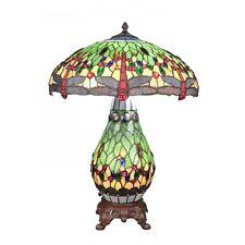 Htdeco - Lampe Tiffany libellule