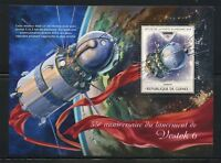 GUINEA  2018 55th ANNIVERSARY OF THE LAUNCH OF VOSTOK 6  SOUVENIR SHEET MINT NH
