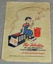 Altes Werbeblatt DURODONT Zahnpasta für Kinder - Reklameblatt farbig   /S240