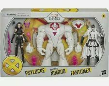 Marvel Legends X-Men Psylocke, Nimrod & Fantomex Amazon Exclusive Action Figures