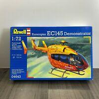 REVELL EUROCOPTER EC145 DEMONSTRATOR 1:72 SCALE PLASTIC MODEL KIT 04643
