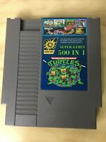 Super Games 500 in 1 Nintendo NES Cartridge Multicart - Next Day Free Shipping!