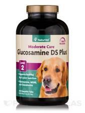 Naturvet Glucosamina Doble Fuerza MSM Condroitina articulación coxofemoral Perro Gato 120 Tab
