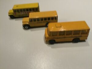 1980s Matchbox, Maisto, Corgi juniors lot 3 Buses