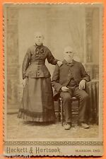 Marion, IN, Portrait of a Couple, by Hockett & Hartsook, circa 1890