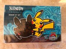 Pokemon World Championships 2012 Hawaii Double Deck Box Pikachu - Sealed