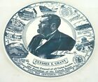 ULYSSES S GRANT Civil War Centennial 18th President USA General Union Army plate