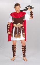 Roman Gladiator Hercules Medieval Halloween Fancy Dress Mens Costume