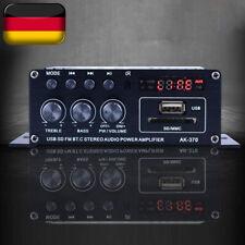 400W Hi-Fi Auto Stereo 12V KFZ Audio Verstärker Bluetooth MP3 Radio Booster