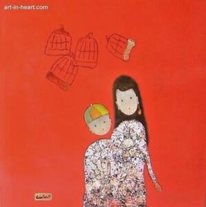 Beautiful Child   Orig lacquer Dat Quoc Tran b1975 VUFA2001 & Paintings  cheaper