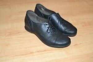 MEPHISTO AIR-JET Leder Halbschuhe Sneakers Schuhe Gr.39,40 UK6,5 schwarz SUPER