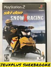 Ski-Doo Snow X Racing (Sony Playstation 2 PS2) (COMPLETE IN BOX)