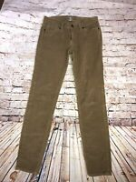 Lucky Brand Corduroy Jeans Women's Size 4/29 Tan Charlie Skinny (A50)