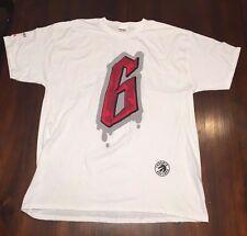 "2016 Toronto Raptors Playoffs ""6"" T-Shirt XL Game 2 Vs Heat Giveaway NEW RARE"