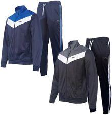 ? SLAZENGER Poly Herren Trainings Anzug Fitness Sport Zweiteiler Hose + Jacke