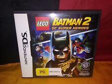 Lego Batman 2: DC Super Heroes - Nintendo DS - VCG - Includes Manual